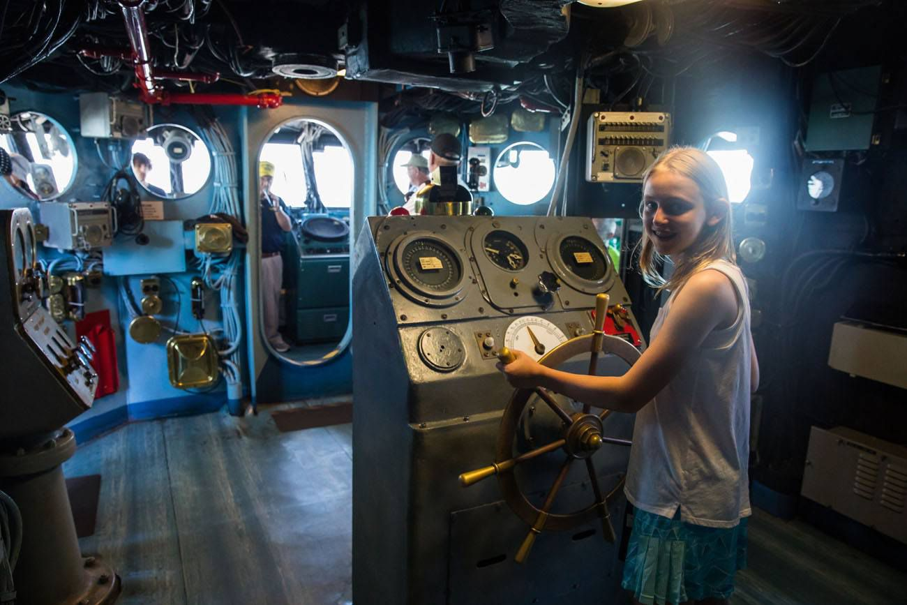 Kara USS Midway best things to do in San Diego