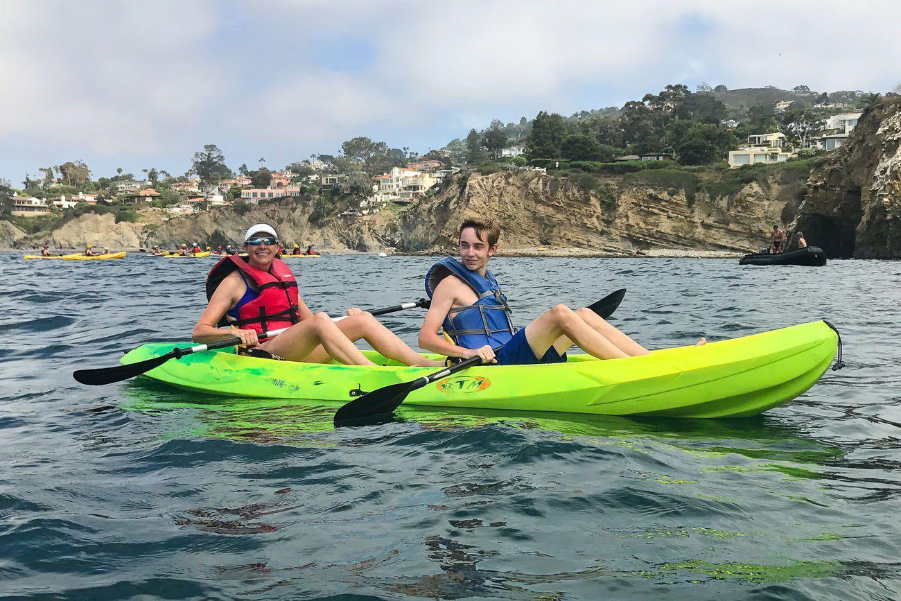 Kayaking La Jolla