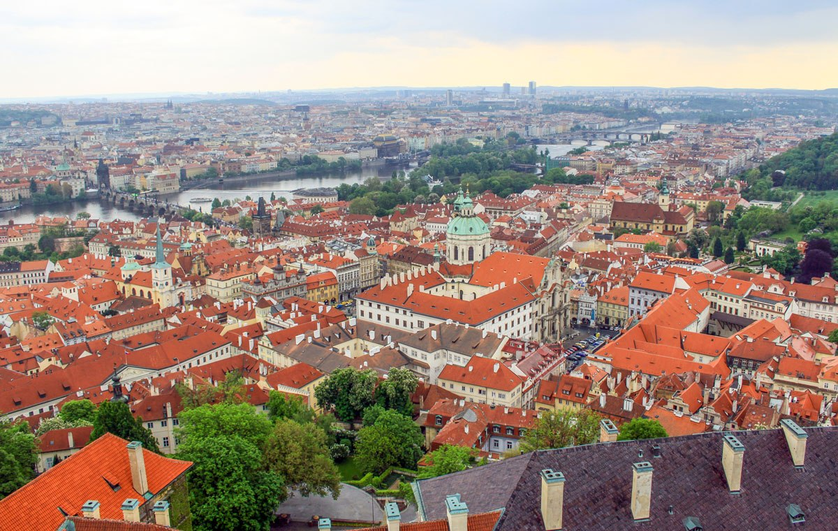St Vitus Cathedral View