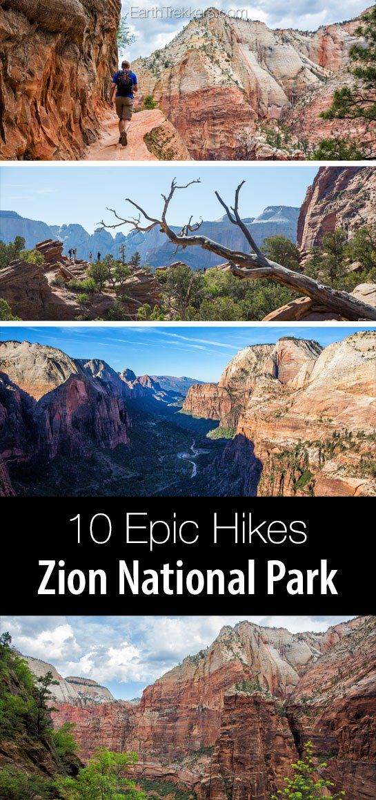 Zion Best Hikes in the Park