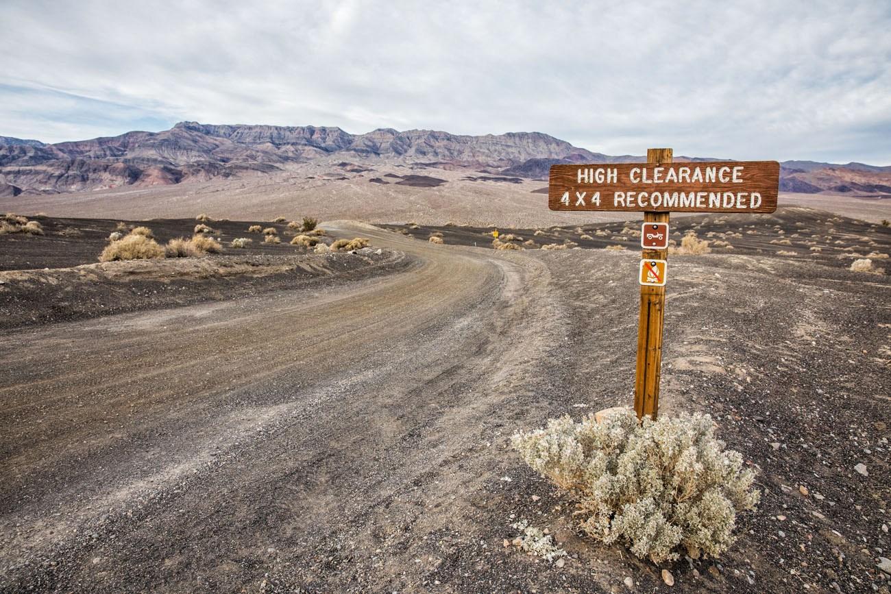 Dirt Road Death Valley