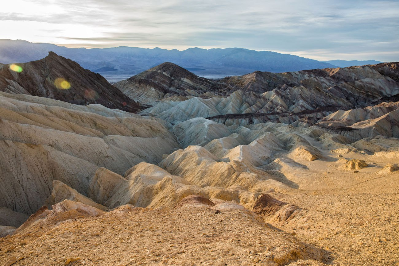 Hiking Death Valley