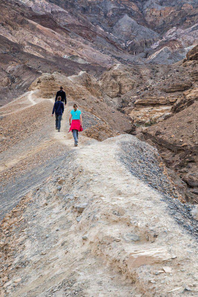 Hiking Trail Death Valley