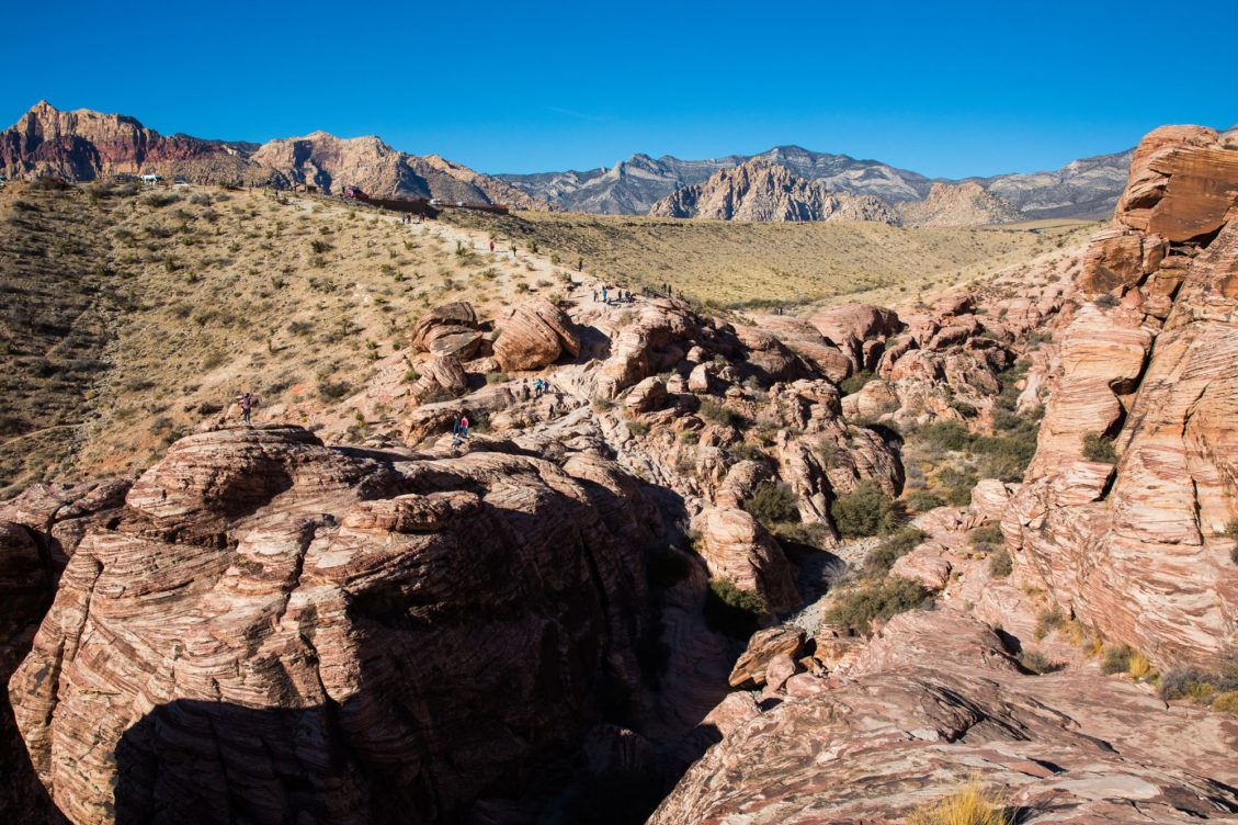 Red Rock Canyon in December