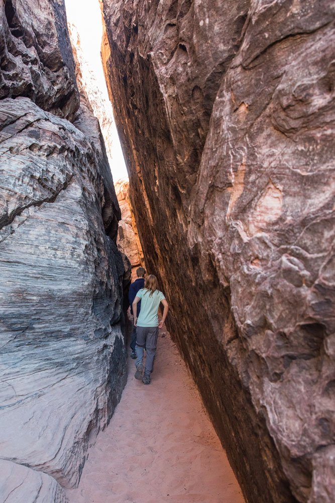 Red Rock Slot Canyon