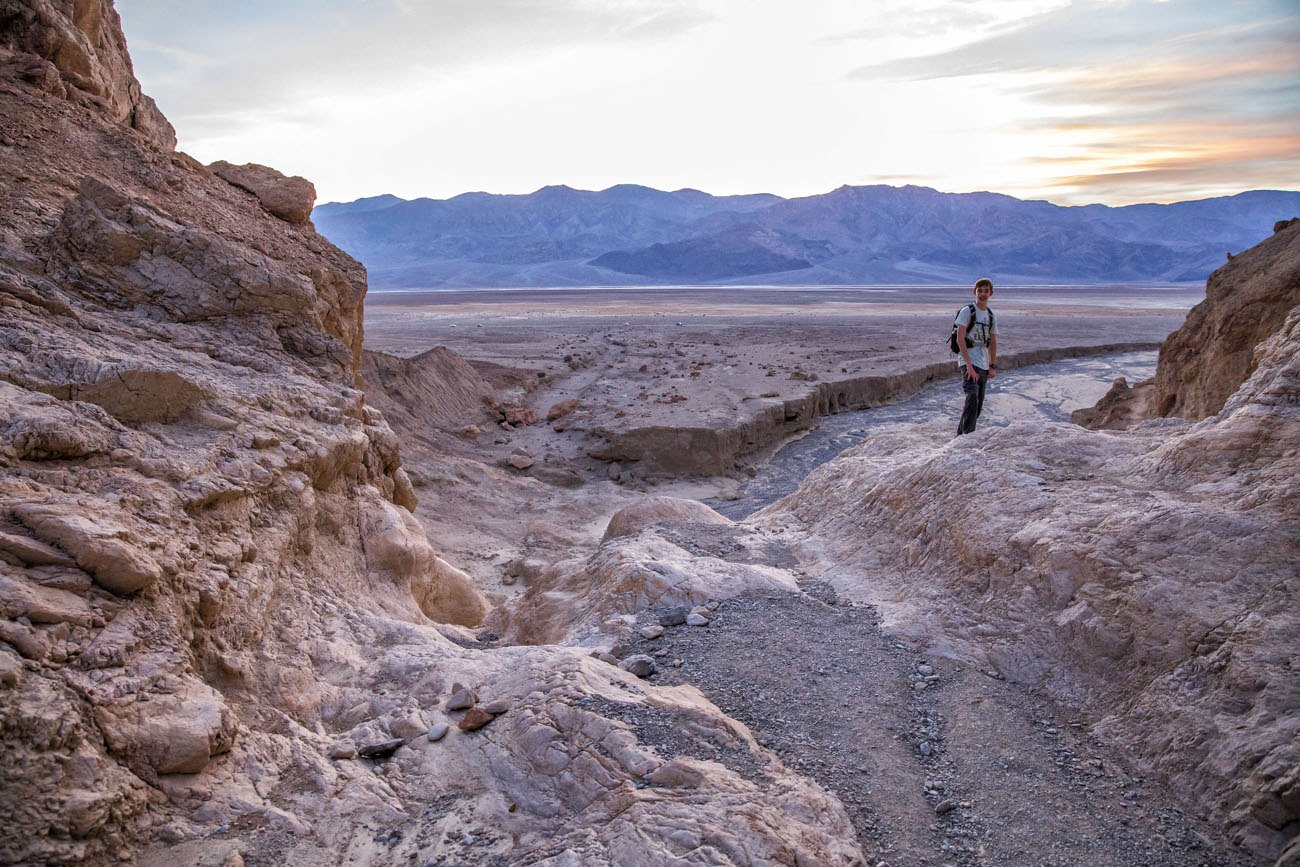 Tyler in Death Valley