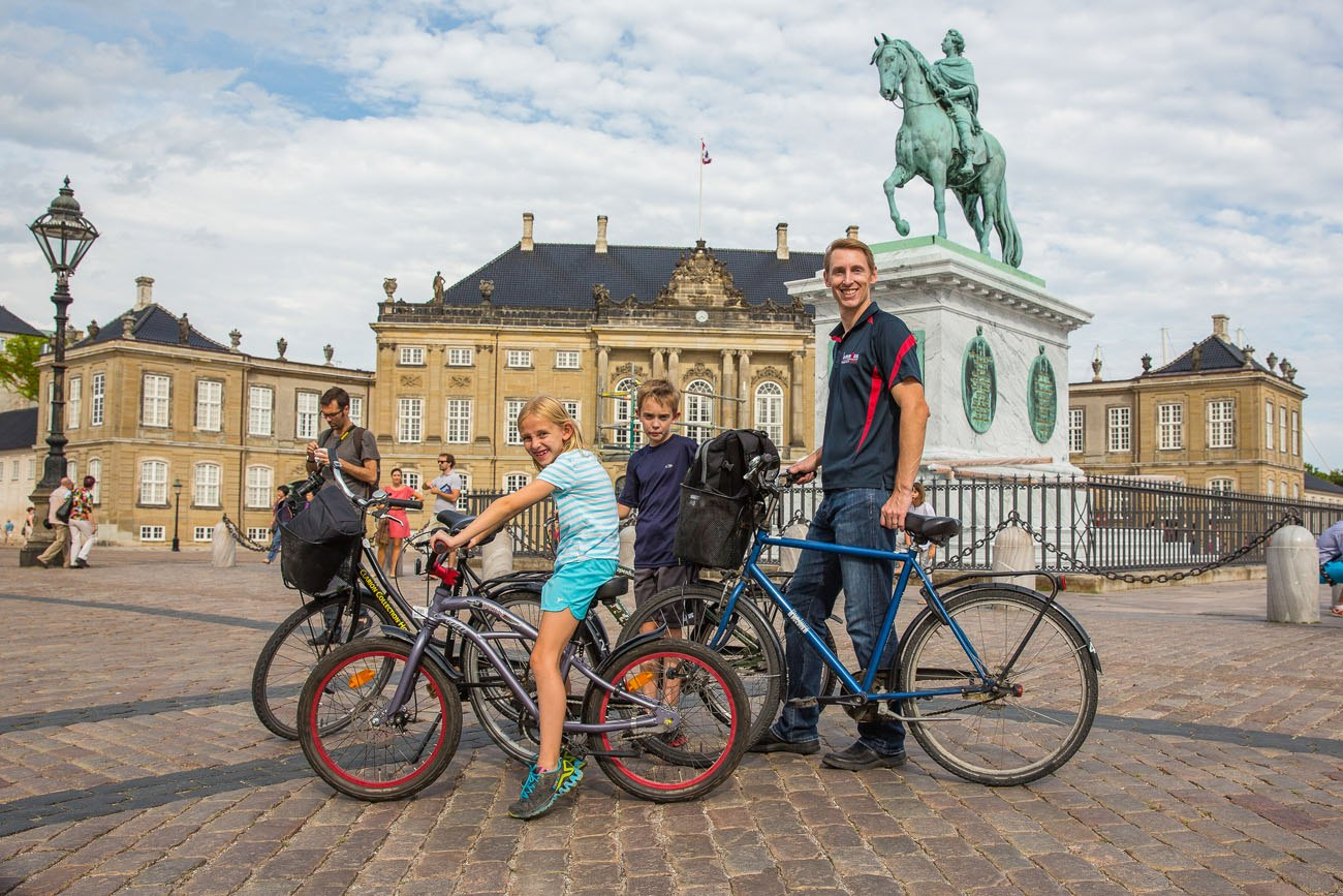 Biking in Copenhagen with Kids
