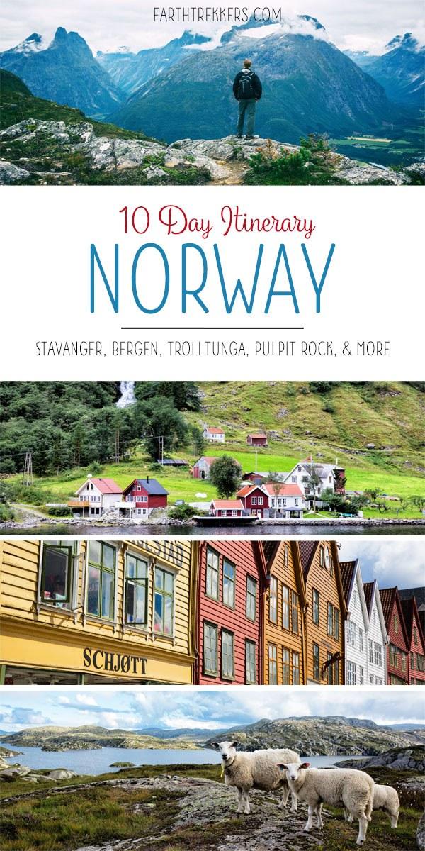 Norway Travel Itinerary