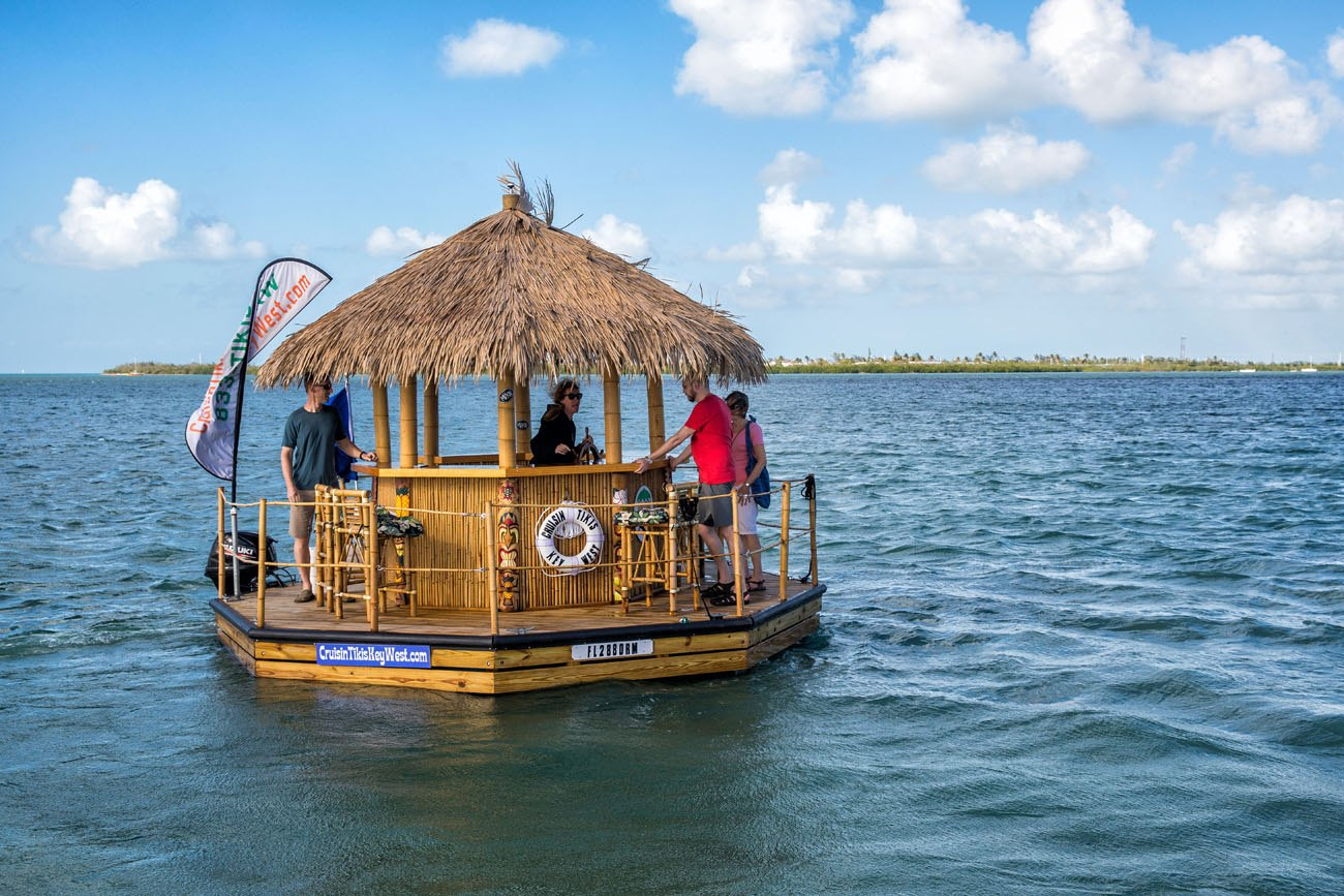 Floating Tiki Bar