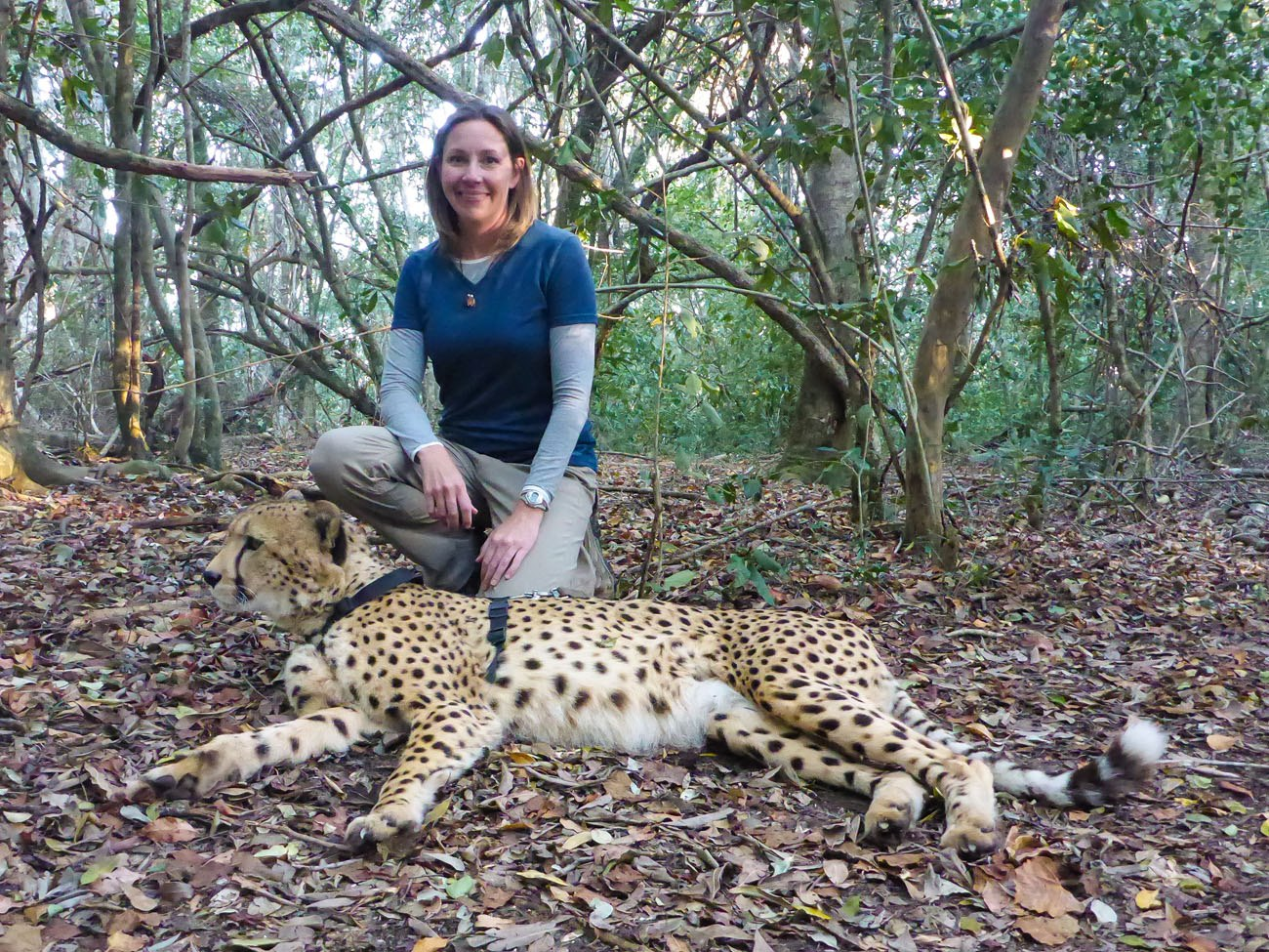 Julie and Cheetah