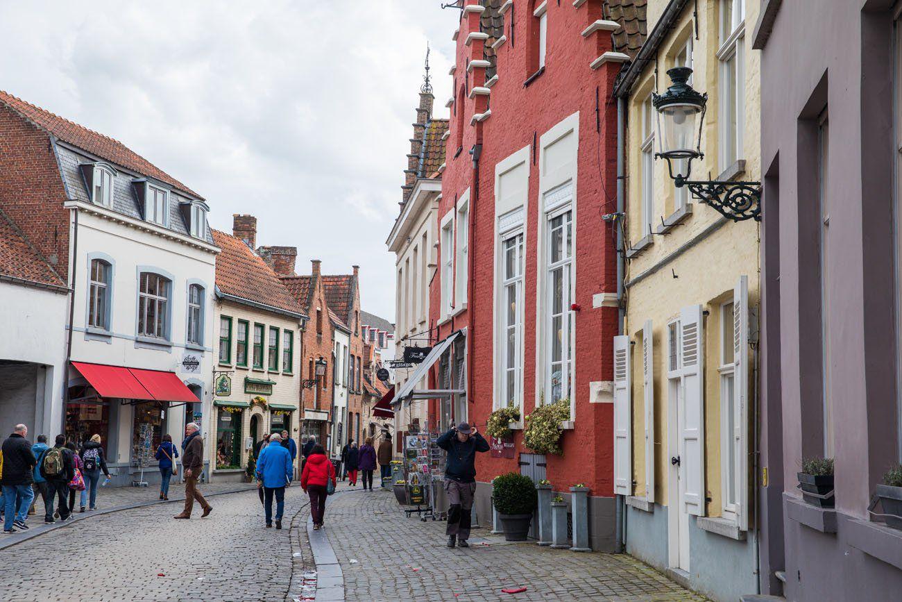 Bruges Belgium Street