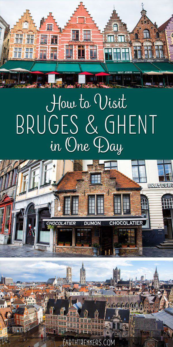 Bruges and Ghent One Day from Brussels Belgium