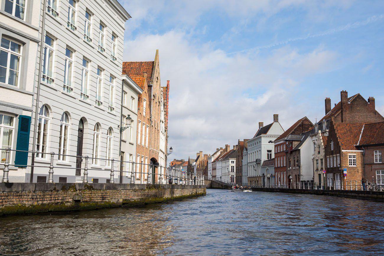 Bruges tour by boat