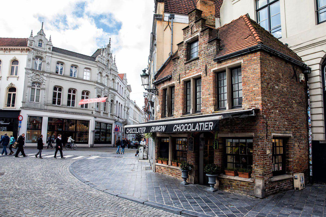 Chocolate in Bruges