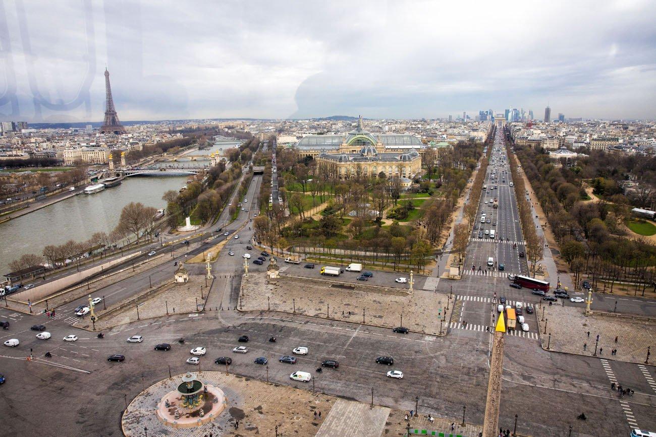 Paris Ferris Wheel View