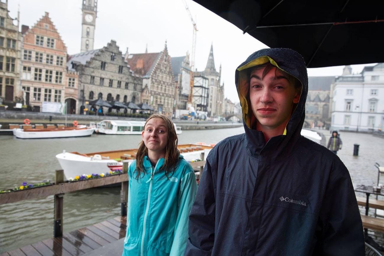Stuck in the rain