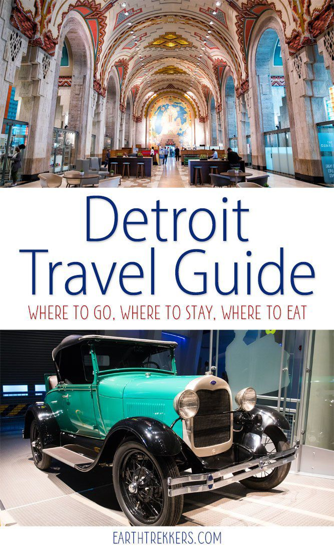 Detroit Travel Guide and Planner