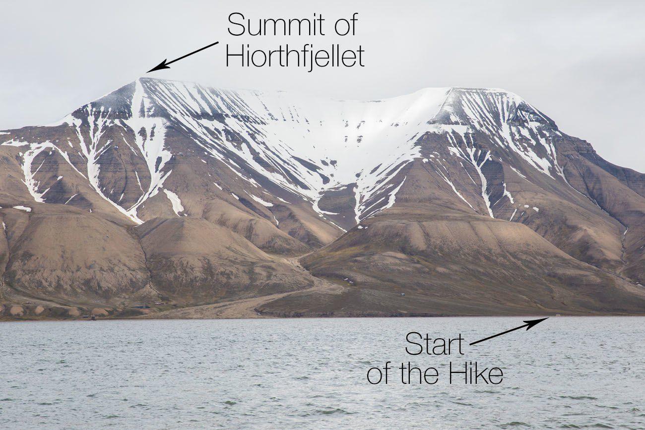 Hike Hiorthfjellet