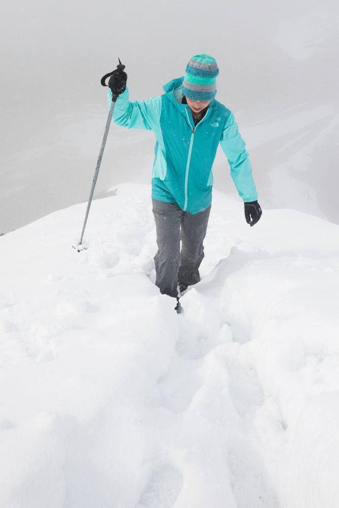 Kara in the Snow