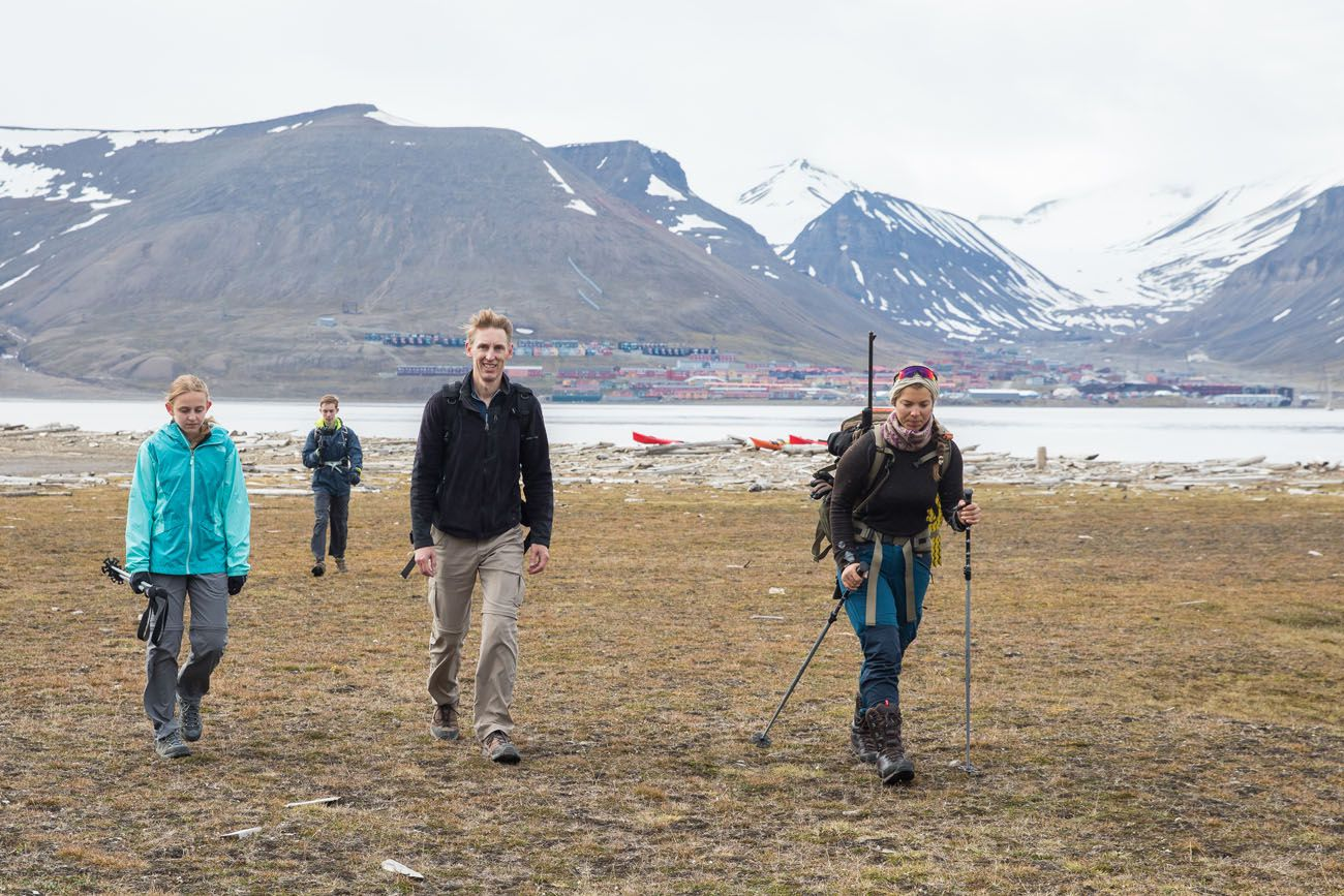 Hiking Svalbard