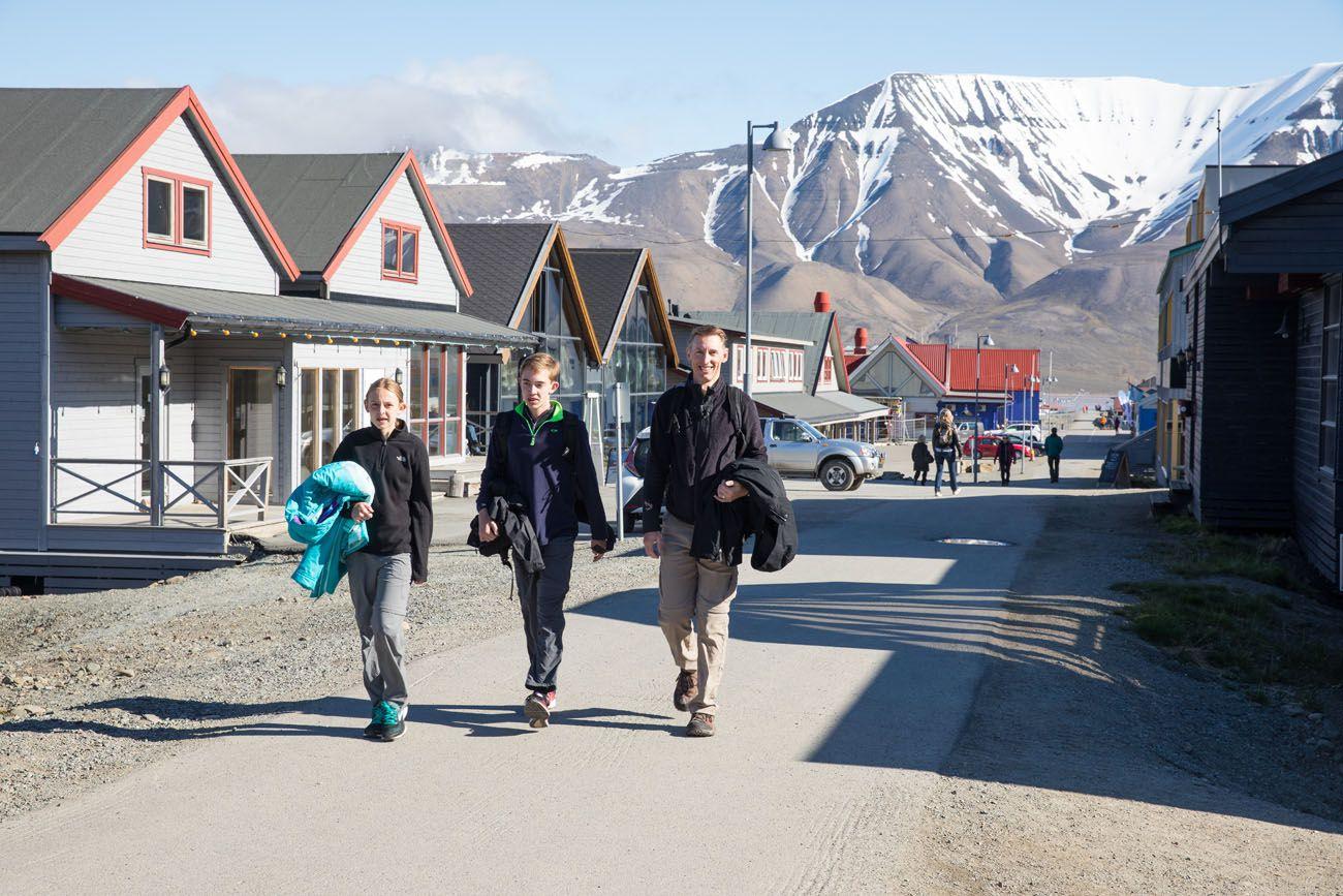 Longyearbyen in June