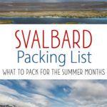 Svalbard Packing List