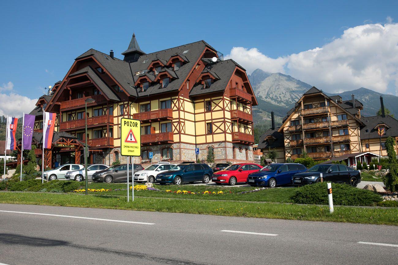 Buildings in Slovakia