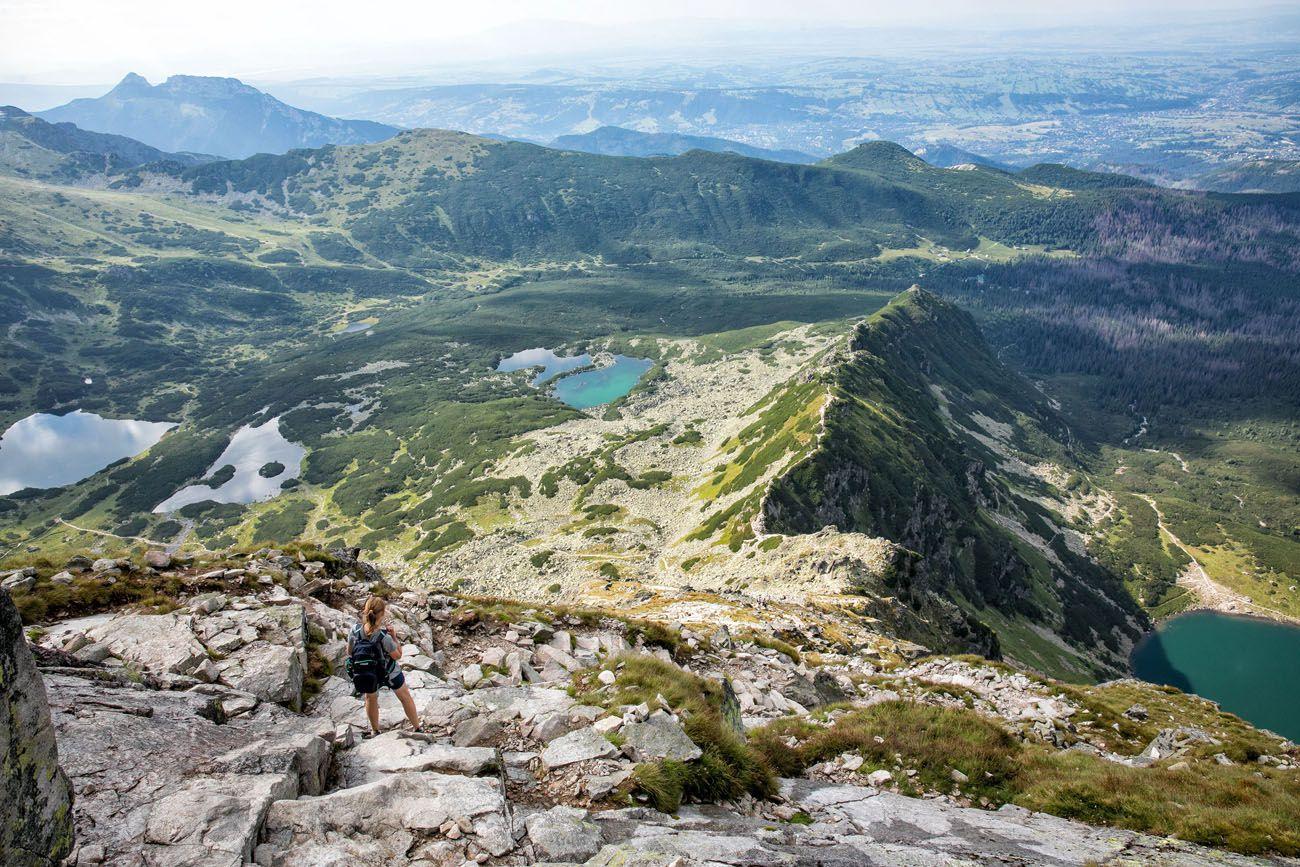 High Tatras from Poland or Slovakia