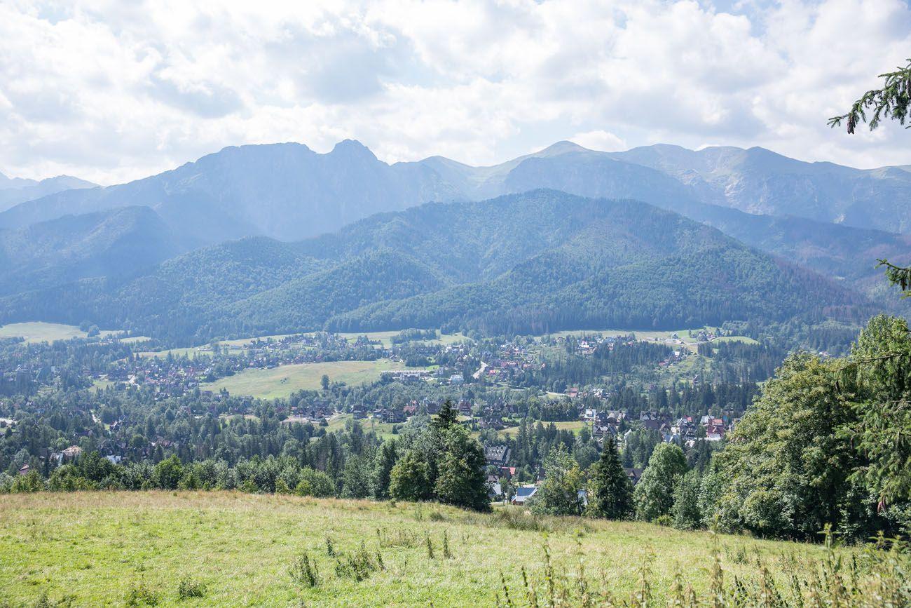 View of Zakopane