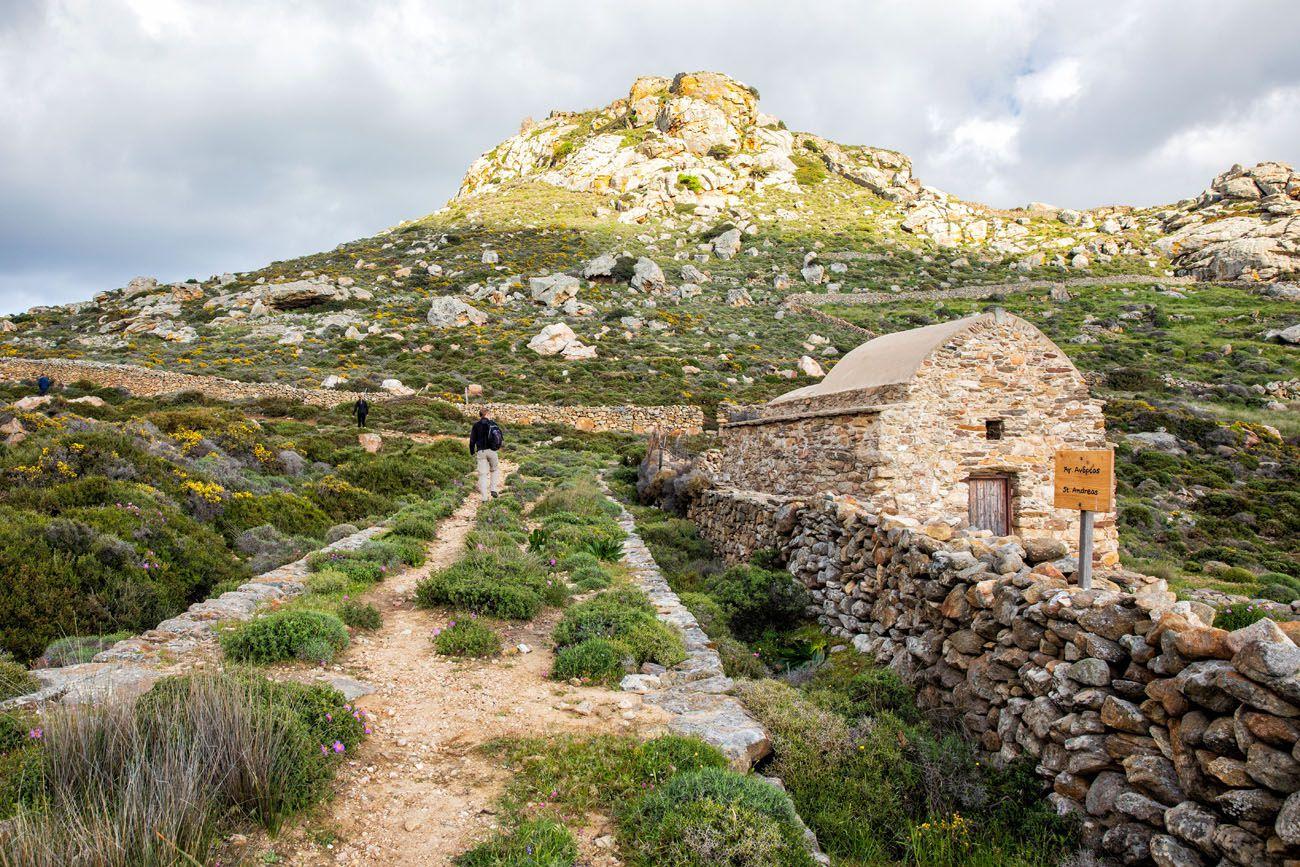 Hiking Trail Apano Kastro