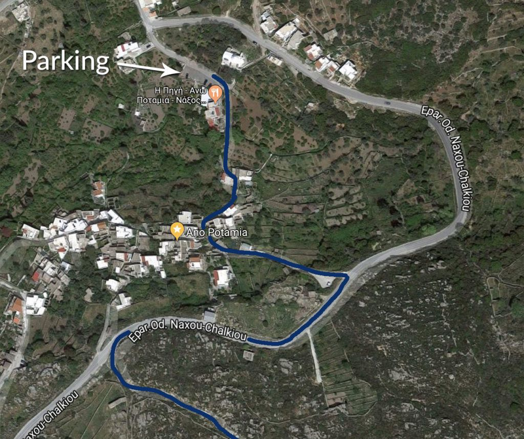 Parking for Apano Kastro