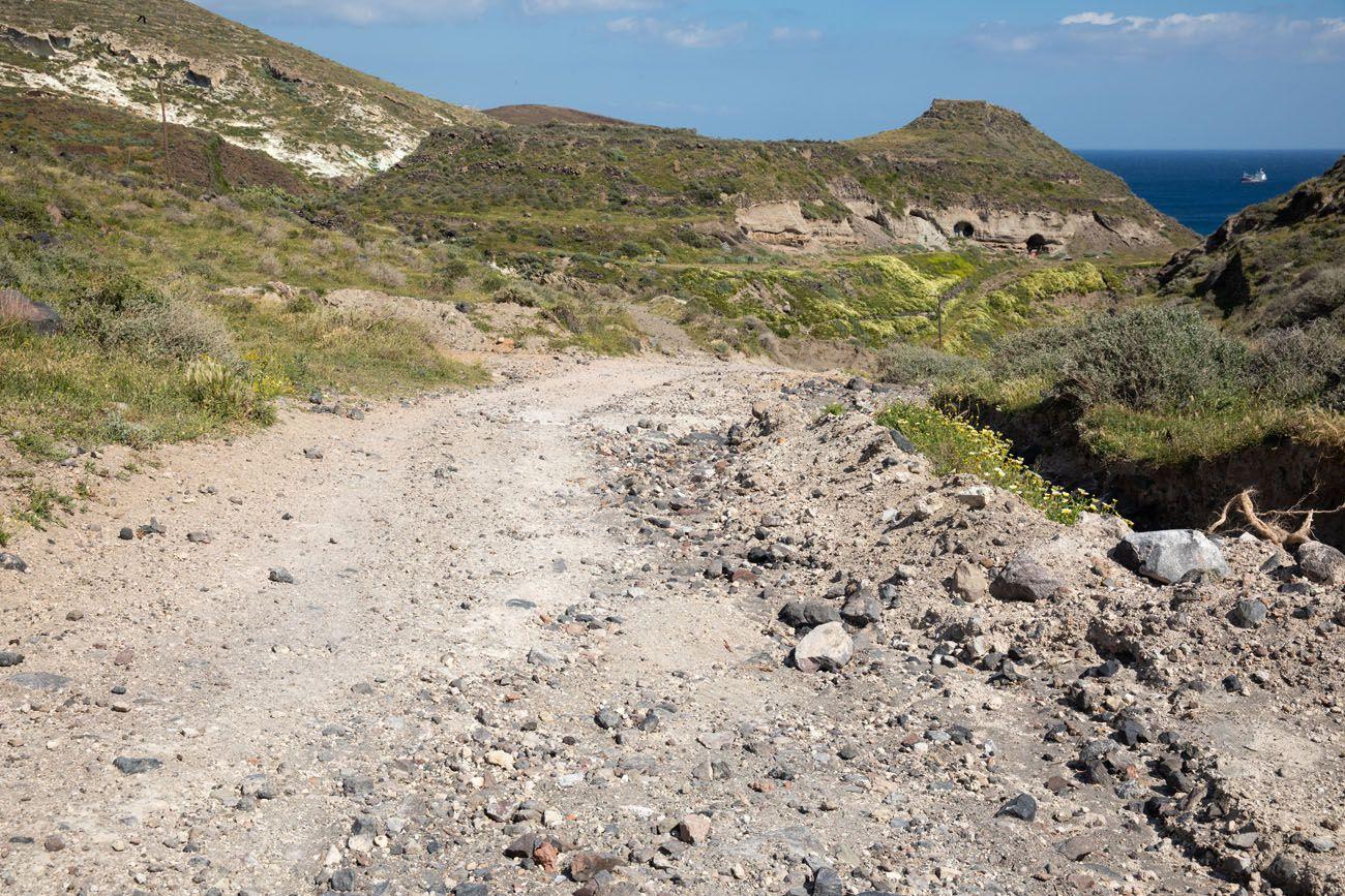 Road to White Beach