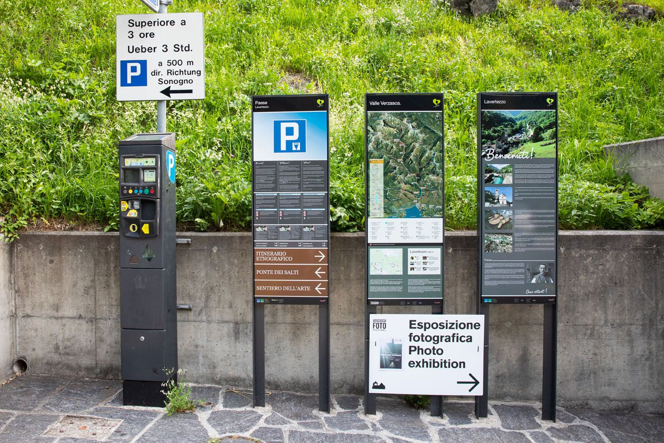 Parking Lavertezzo