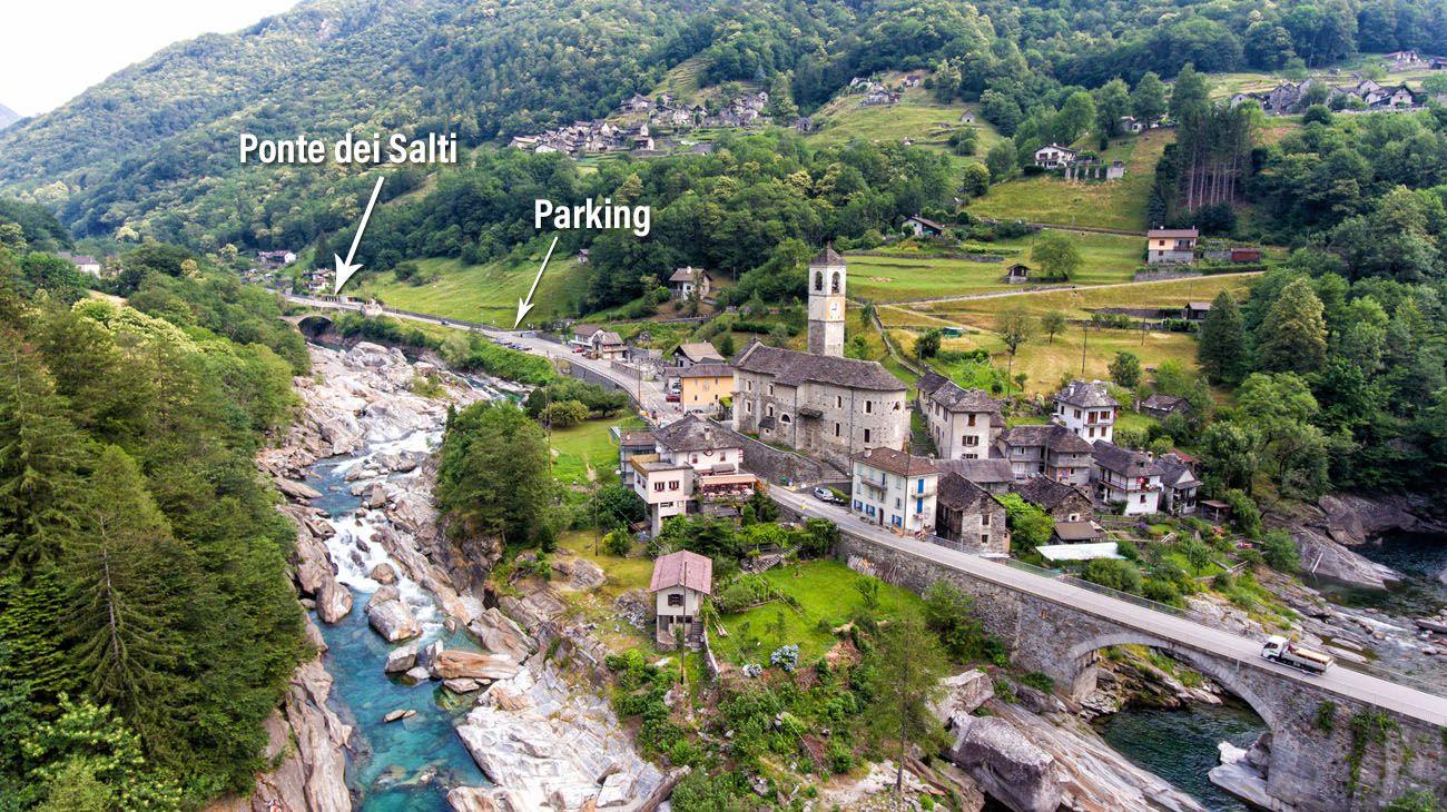 Where to Park in Lavertezzo