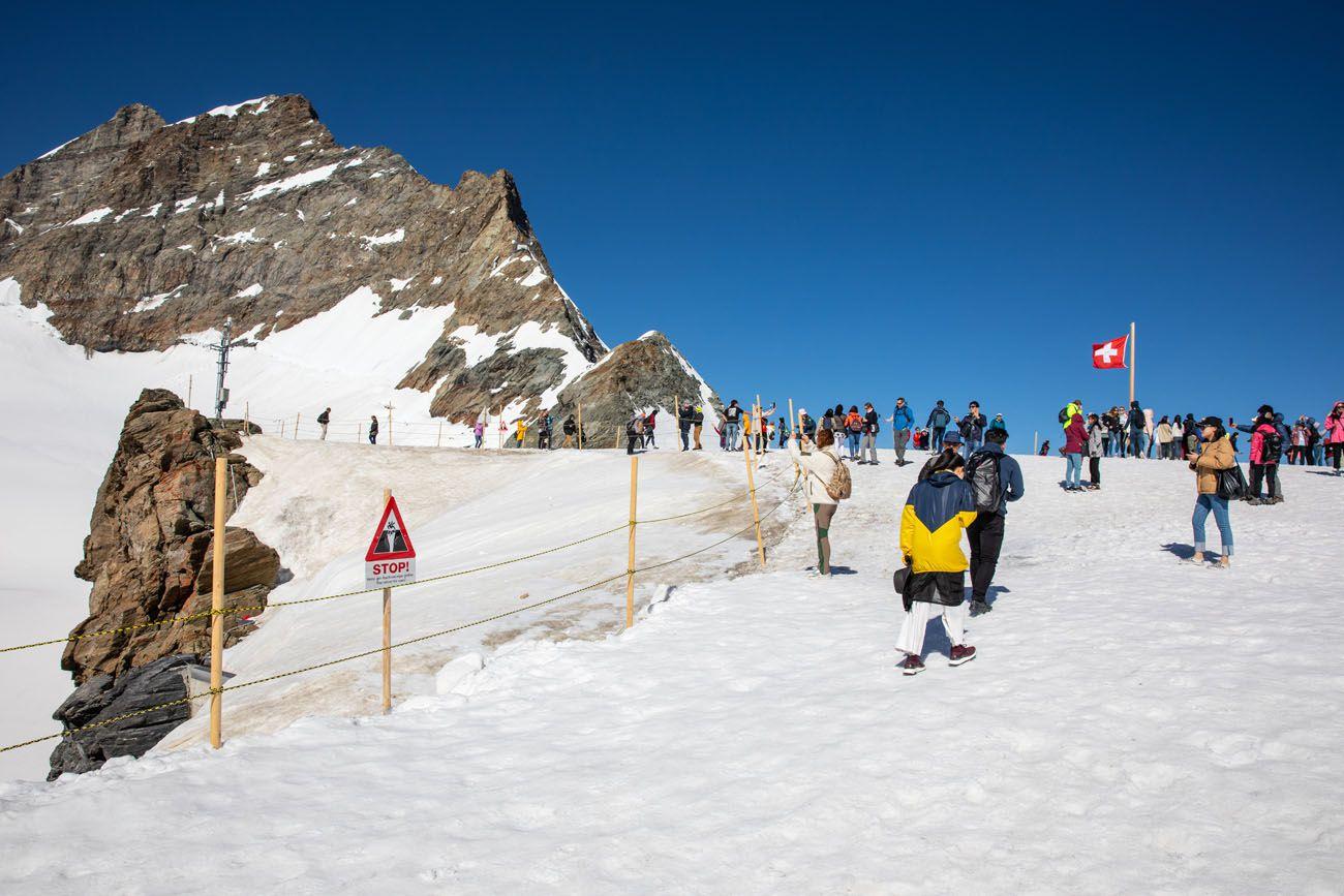 Glacier Plateau Jungfraujoch