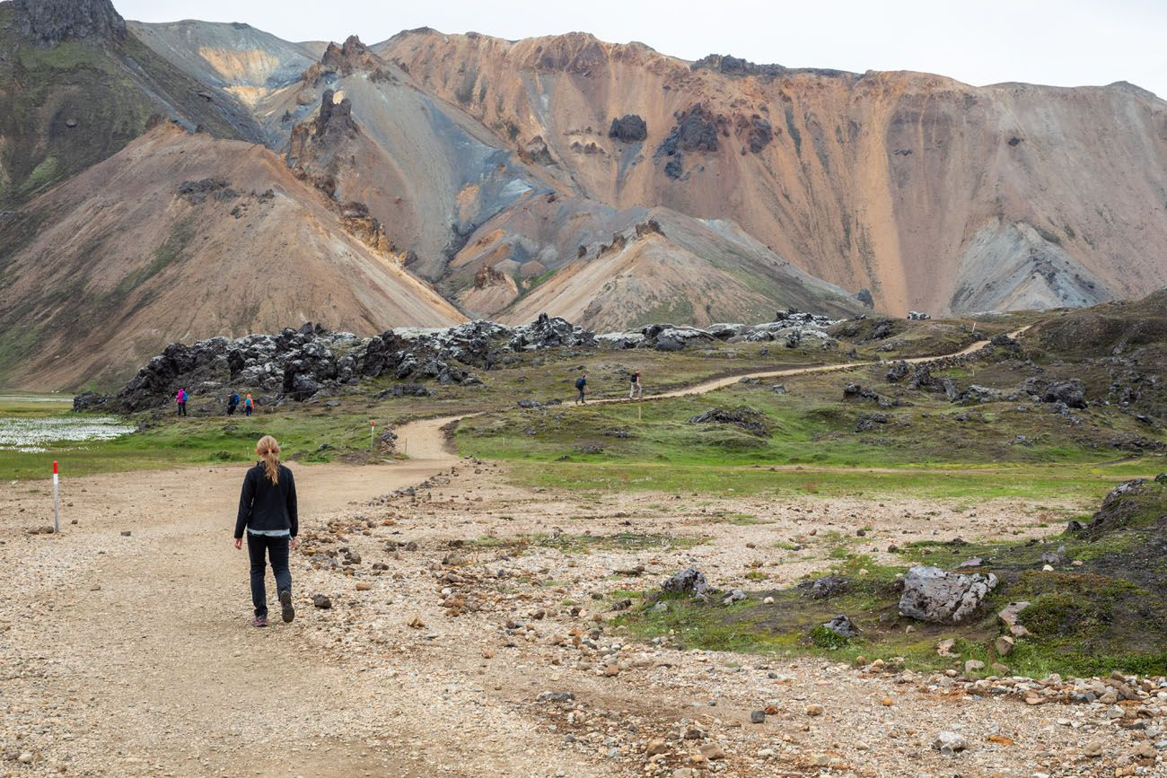 Hike through Laugarhaun