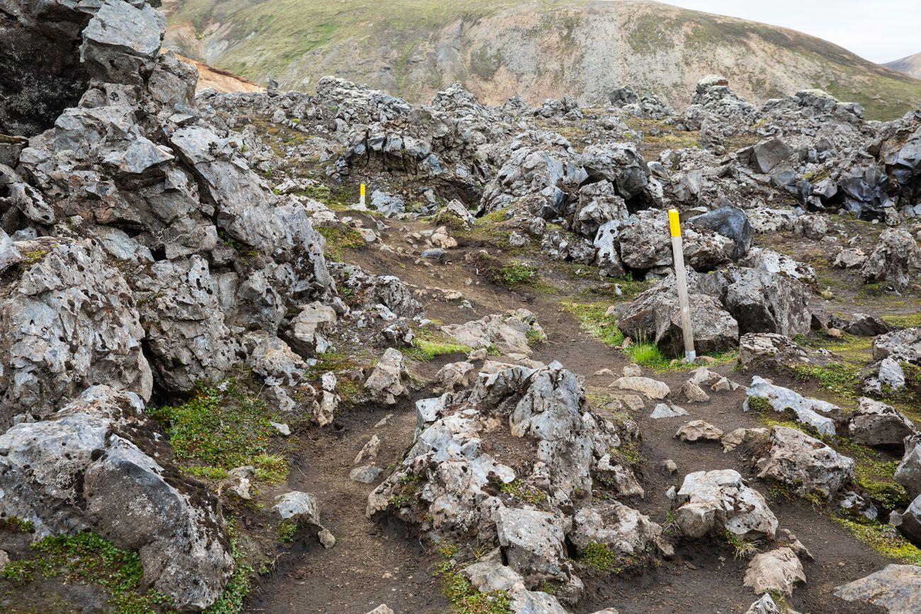 Lava Field Trail