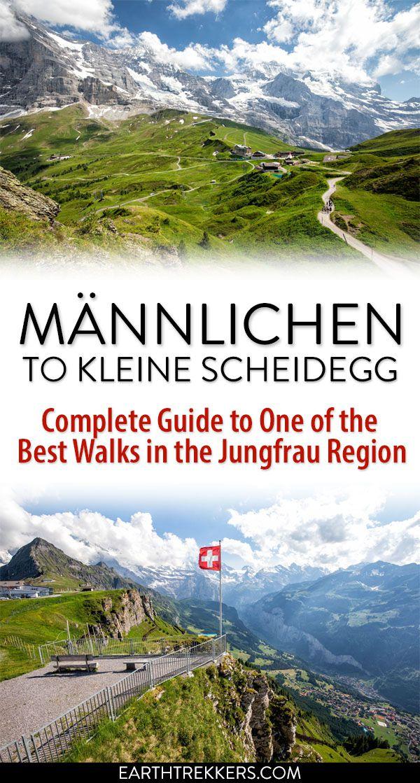 Mannlichen Kleine Scheidegg Jungfrau Switzerland