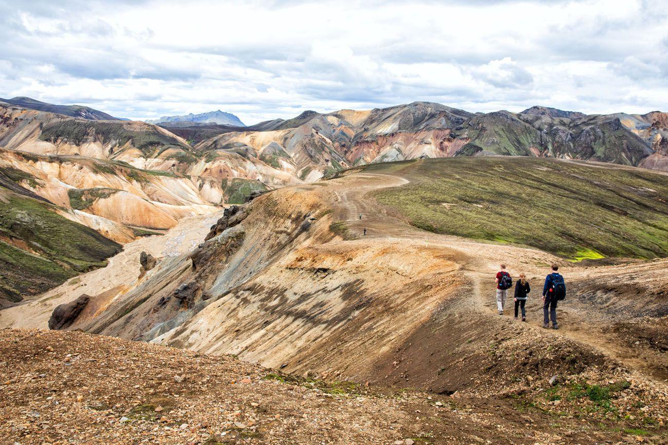 Mt Brennisteinsalda Hike