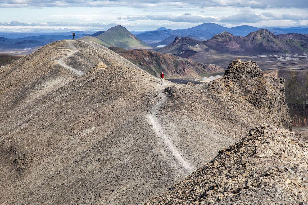 Best Day Hikes Landmannalaugar