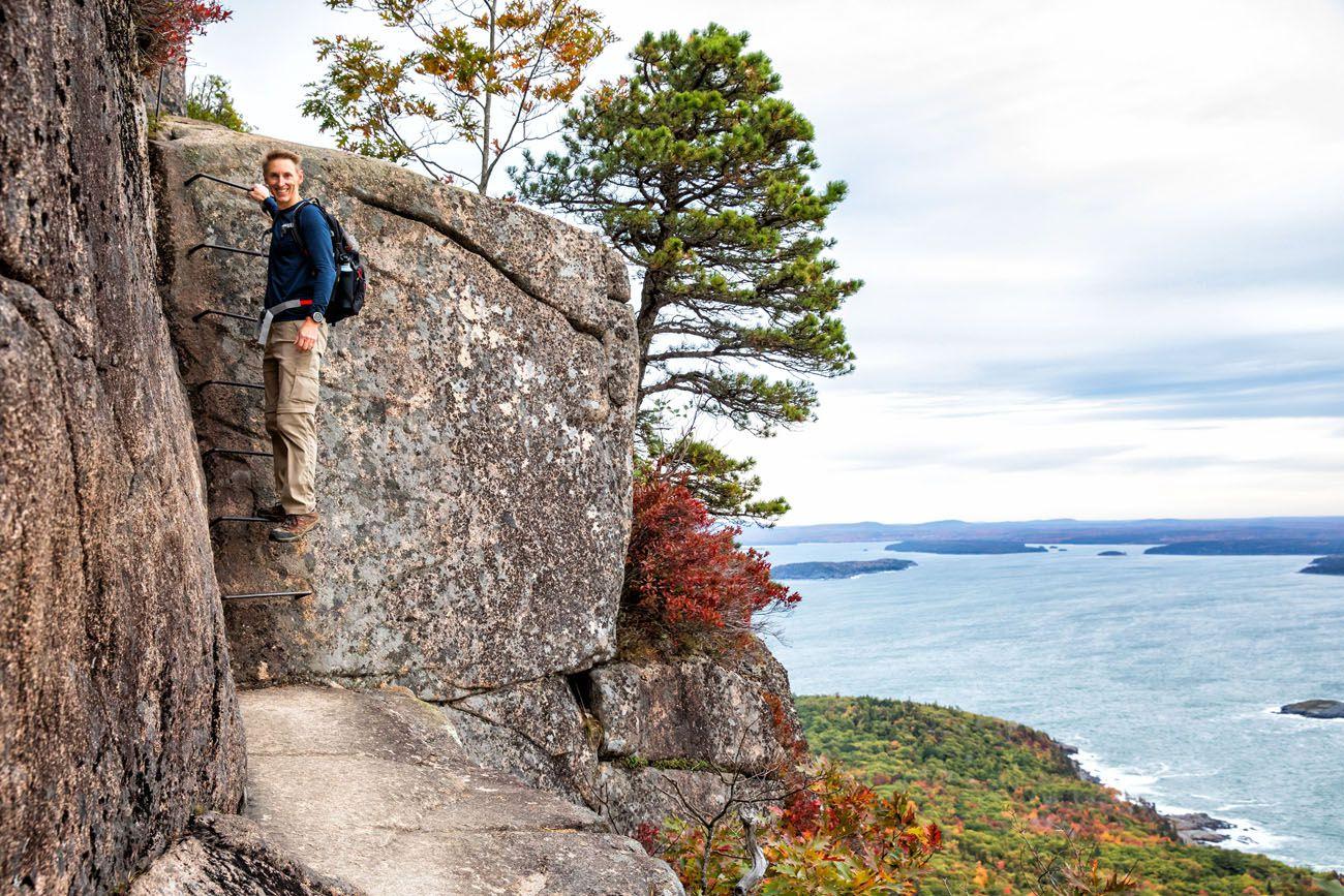 Best Hikes in Acadia Precipice