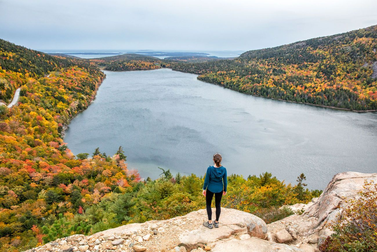 Best Hikes in Acadia South Bubble