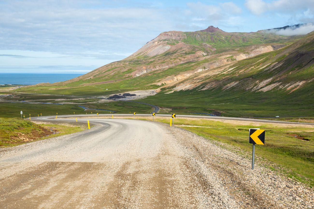 Drive to Borgarfjörður Eystri