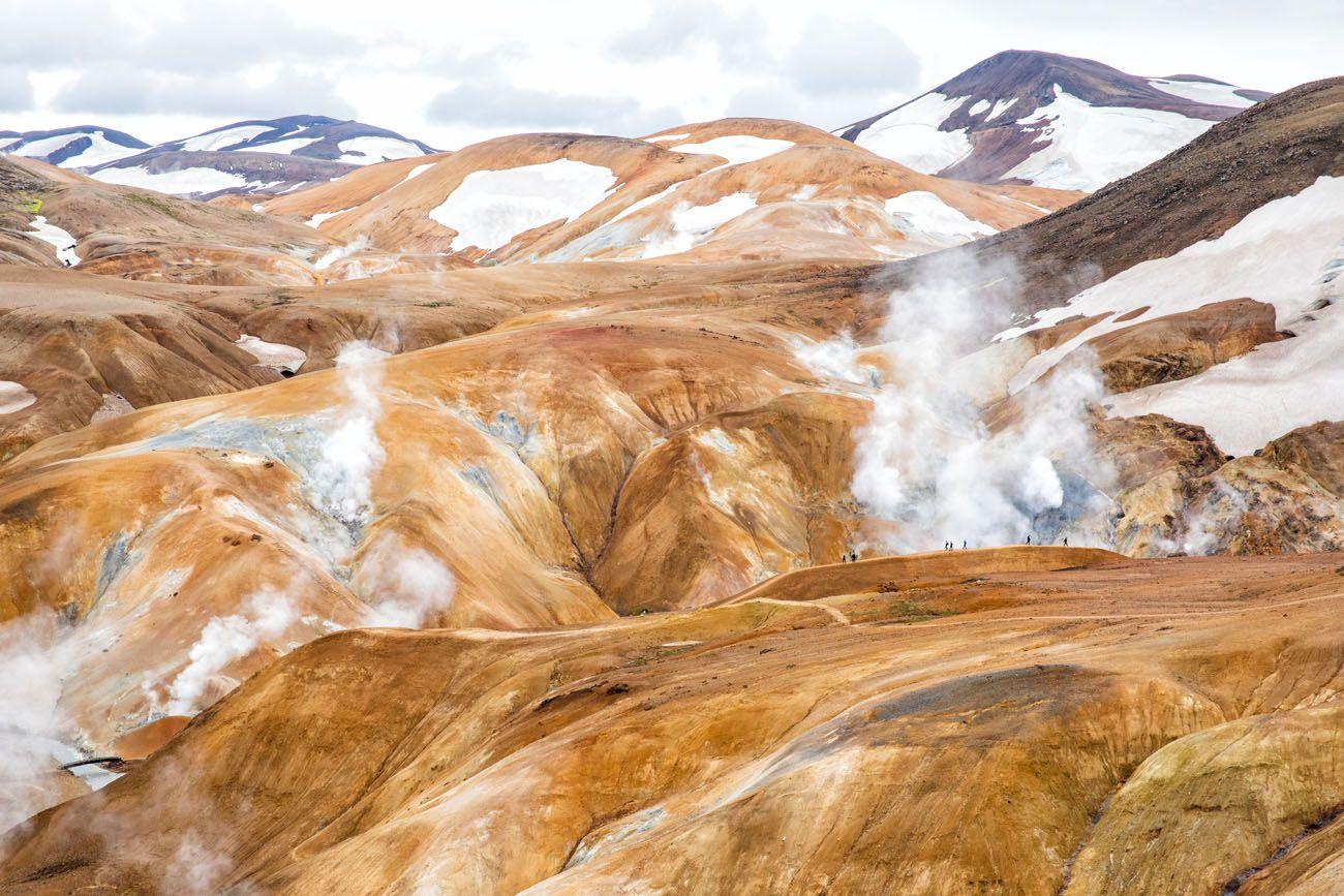Iceland Itinerary with Kerlingarfjoll