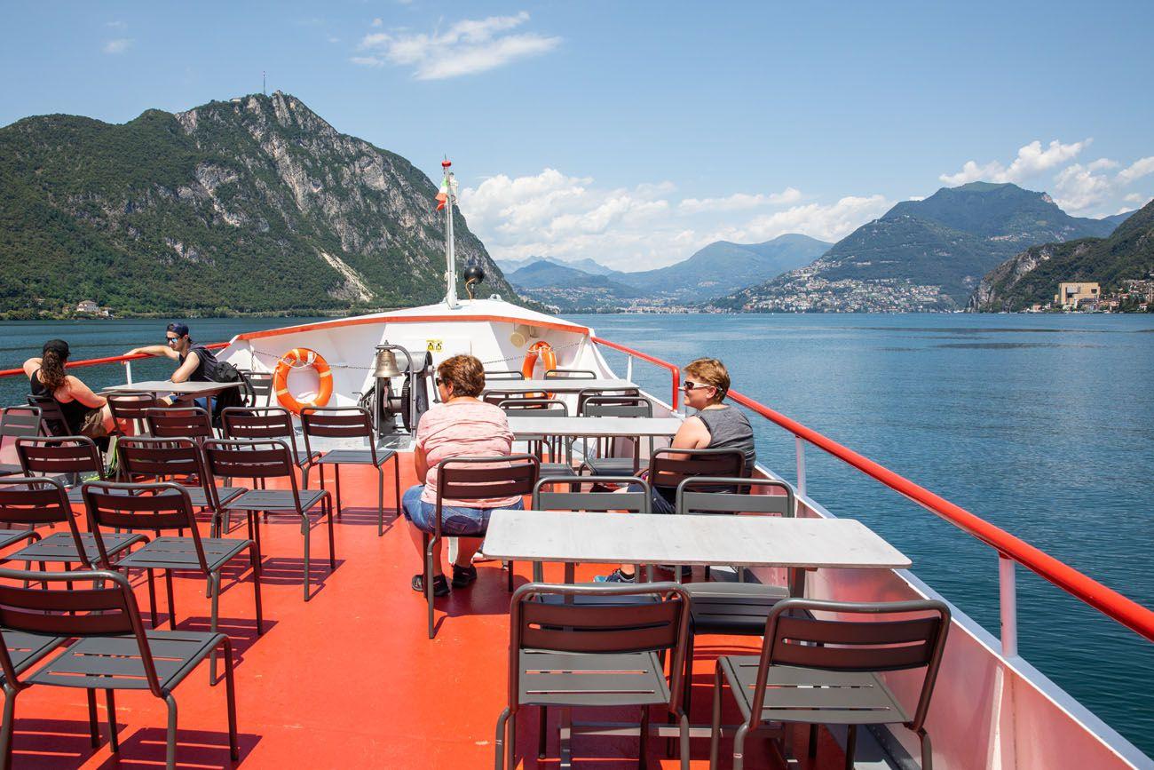 Lugano Boat