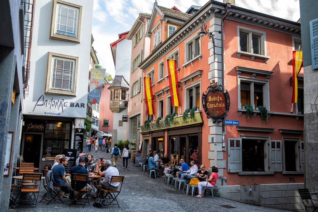One Day in Zurich