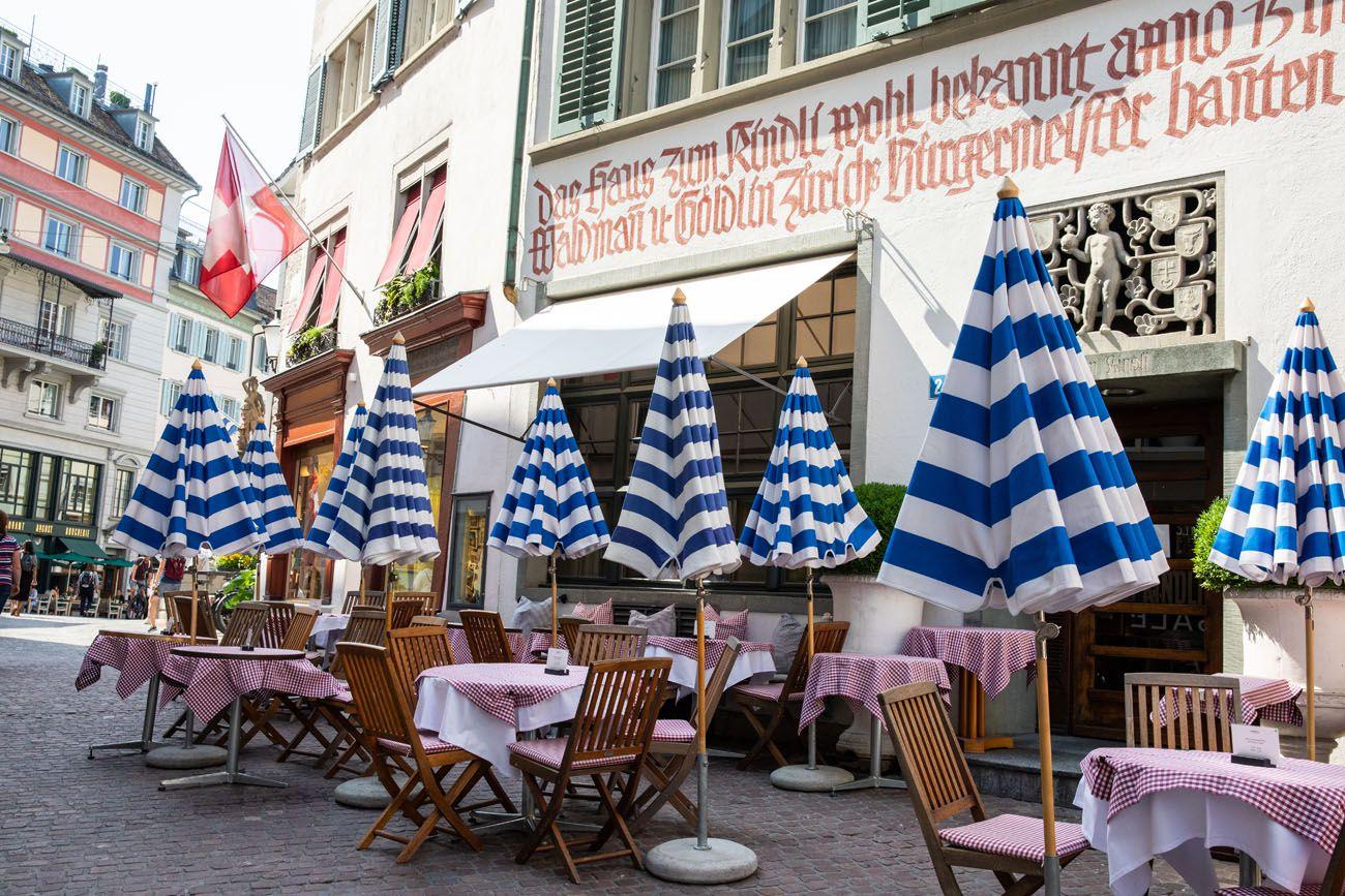 One Day in Zurich Switzerland