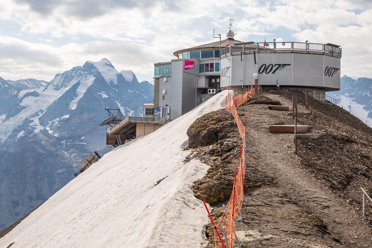 Schilthorn or Jungfraujoch
