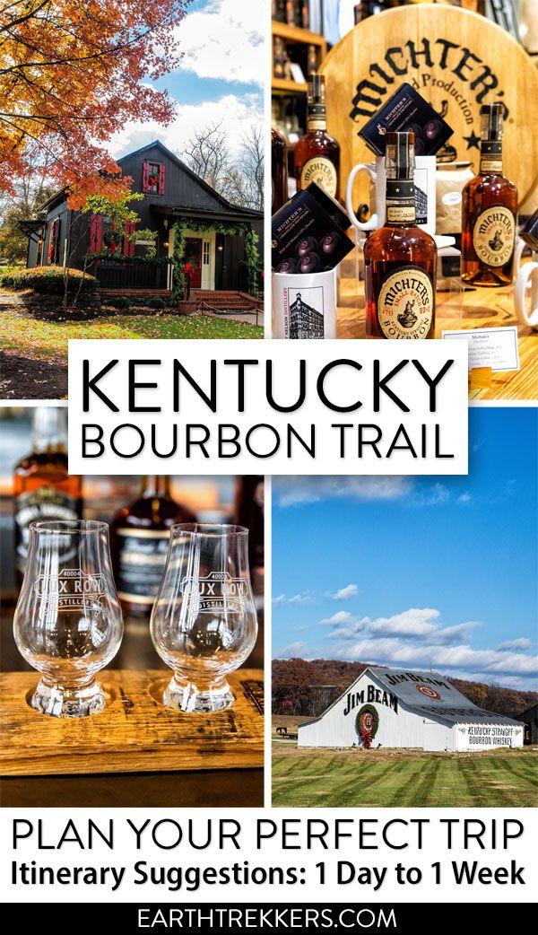 Best Kentucky Bourbon Trail Itinerary