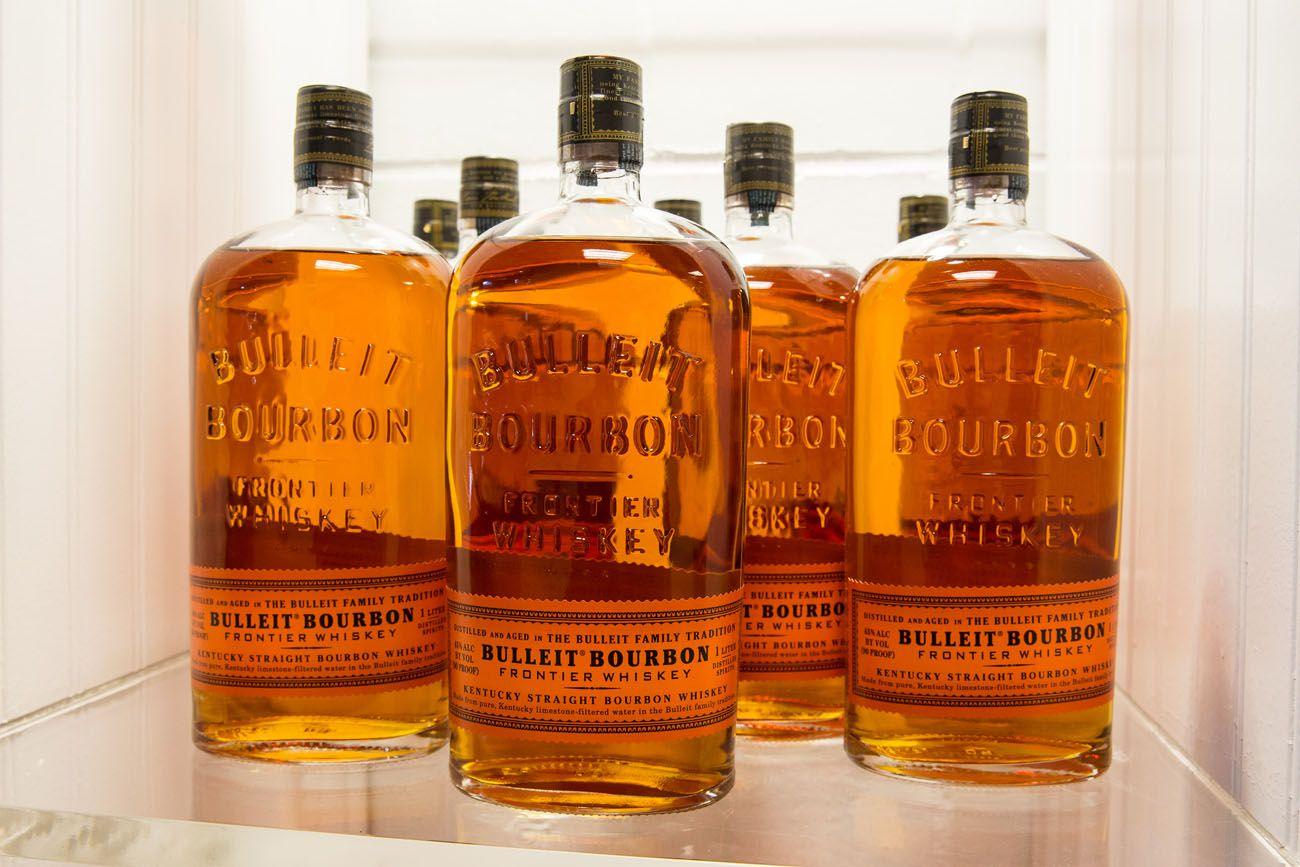 Bulleit Kentucky Bourbon Trail itinerary